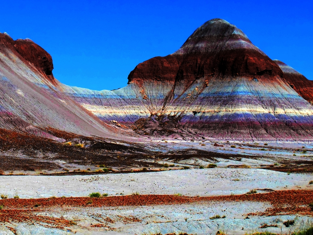 Christensen Teepees in the Painted Desert compressed