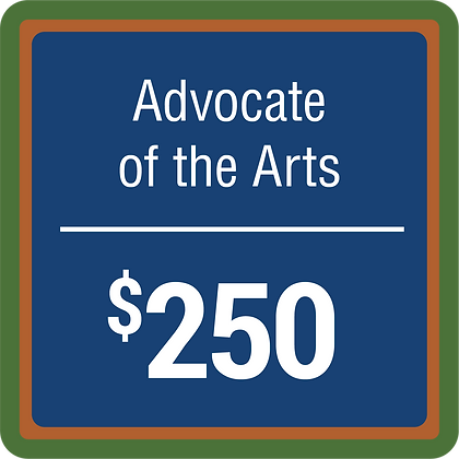 Advocate of The Arts - $250