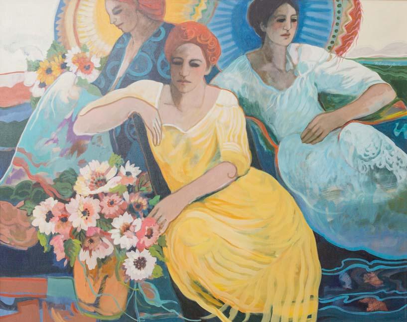 2. Coll. Judy Ruffer  Artist. Barbara Gallagher