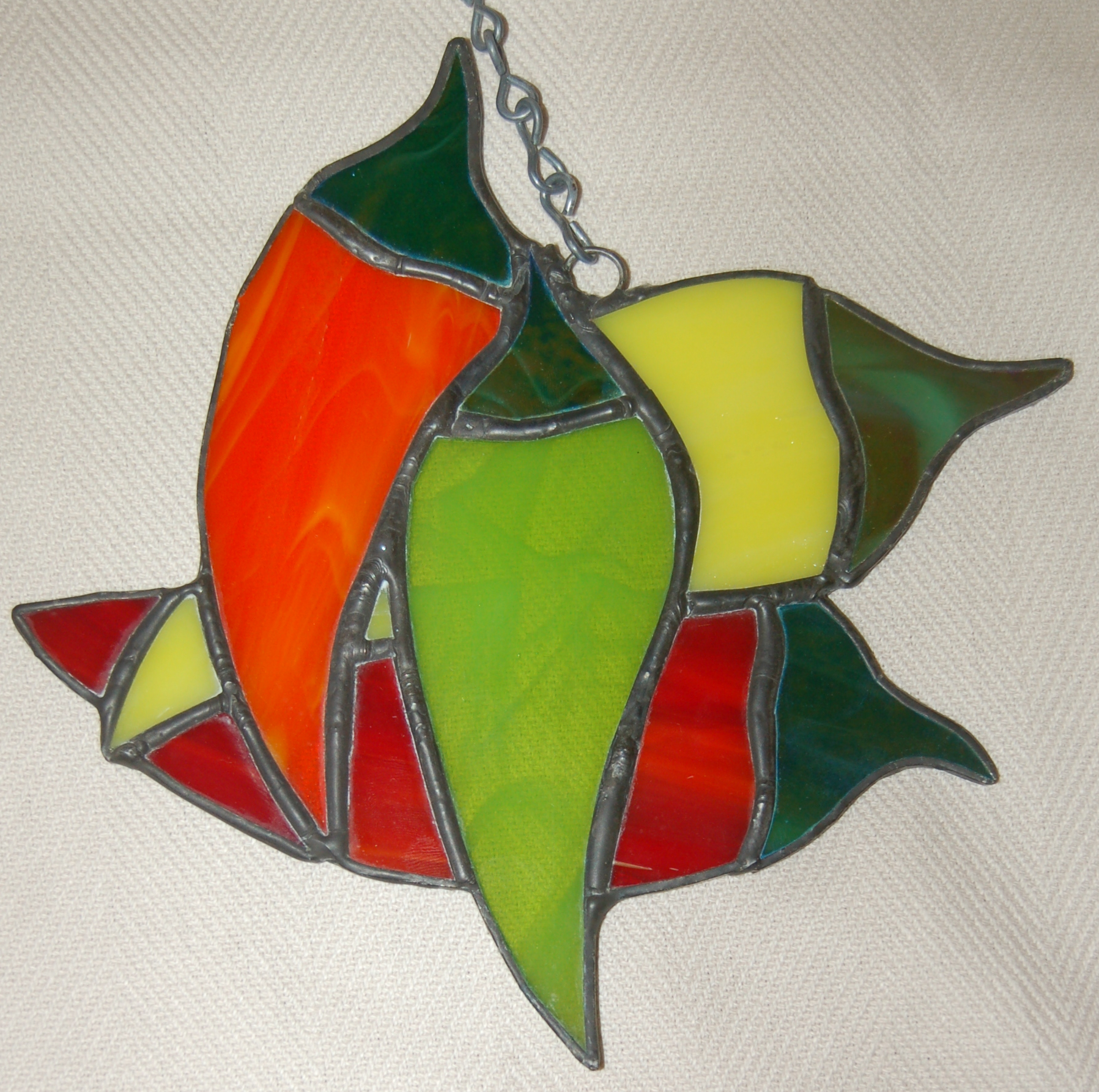 Richard Gray Stained Glass Peppers