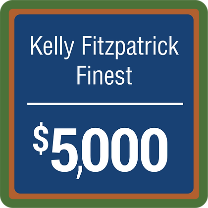 Kelly Fitzpatrick Finest - $5,000