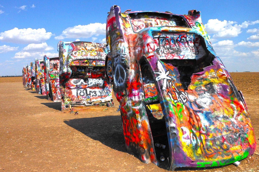 A PREFERRED Jacobs Cadillac Ranch compressed