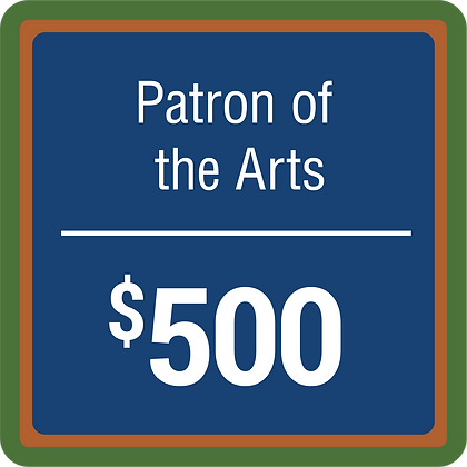 Patron of The Arts - $500