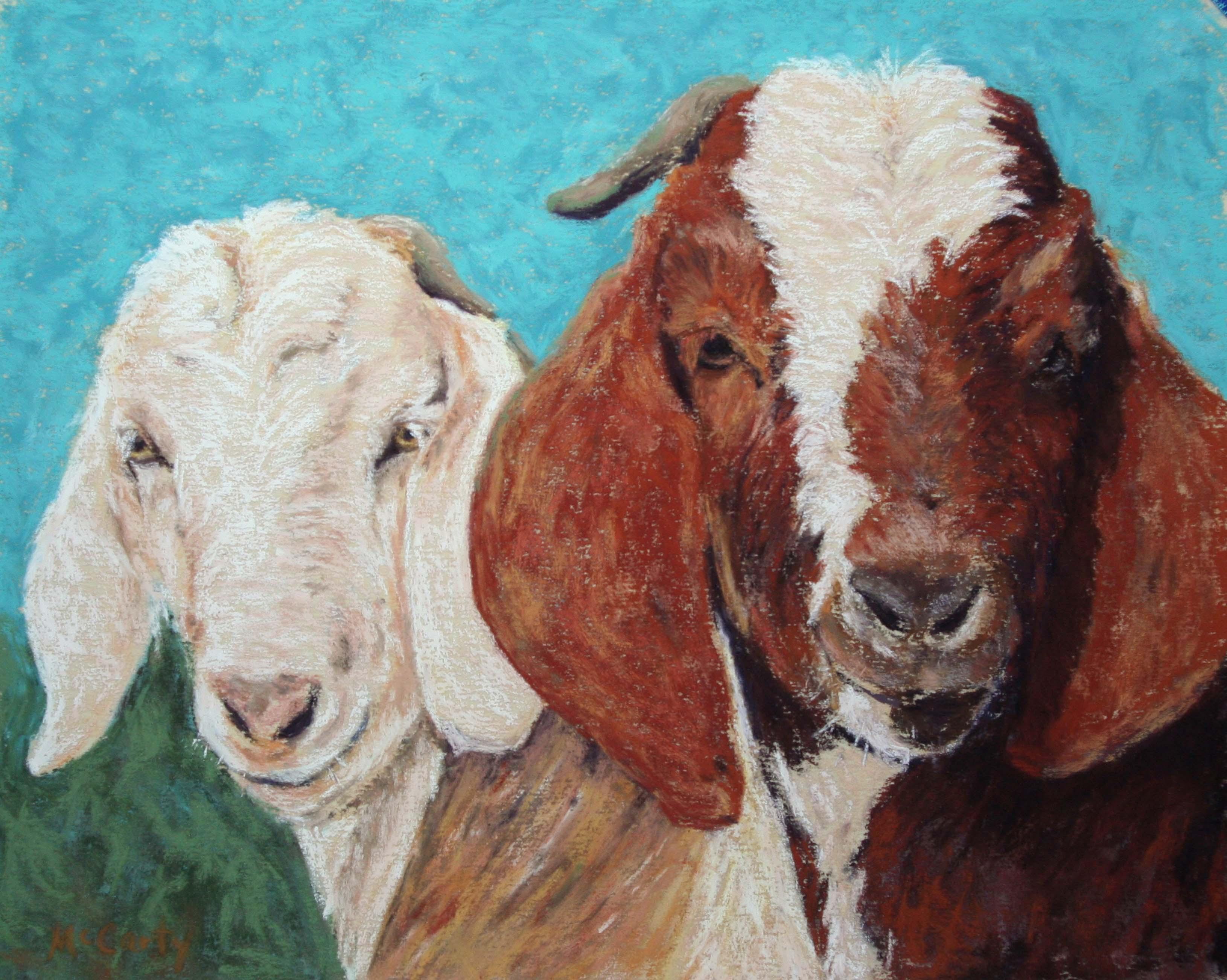 Bonnie McCarty - Goats-$250 (1)