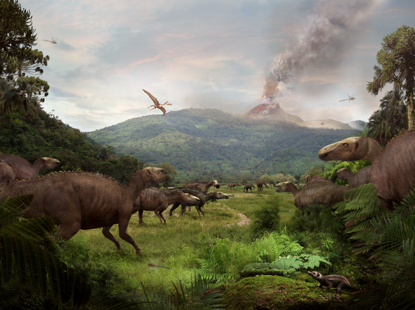 Jon Hughes Edmontosaurus