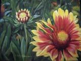 D. Alexander, pastel, 'Garden Pleasures'