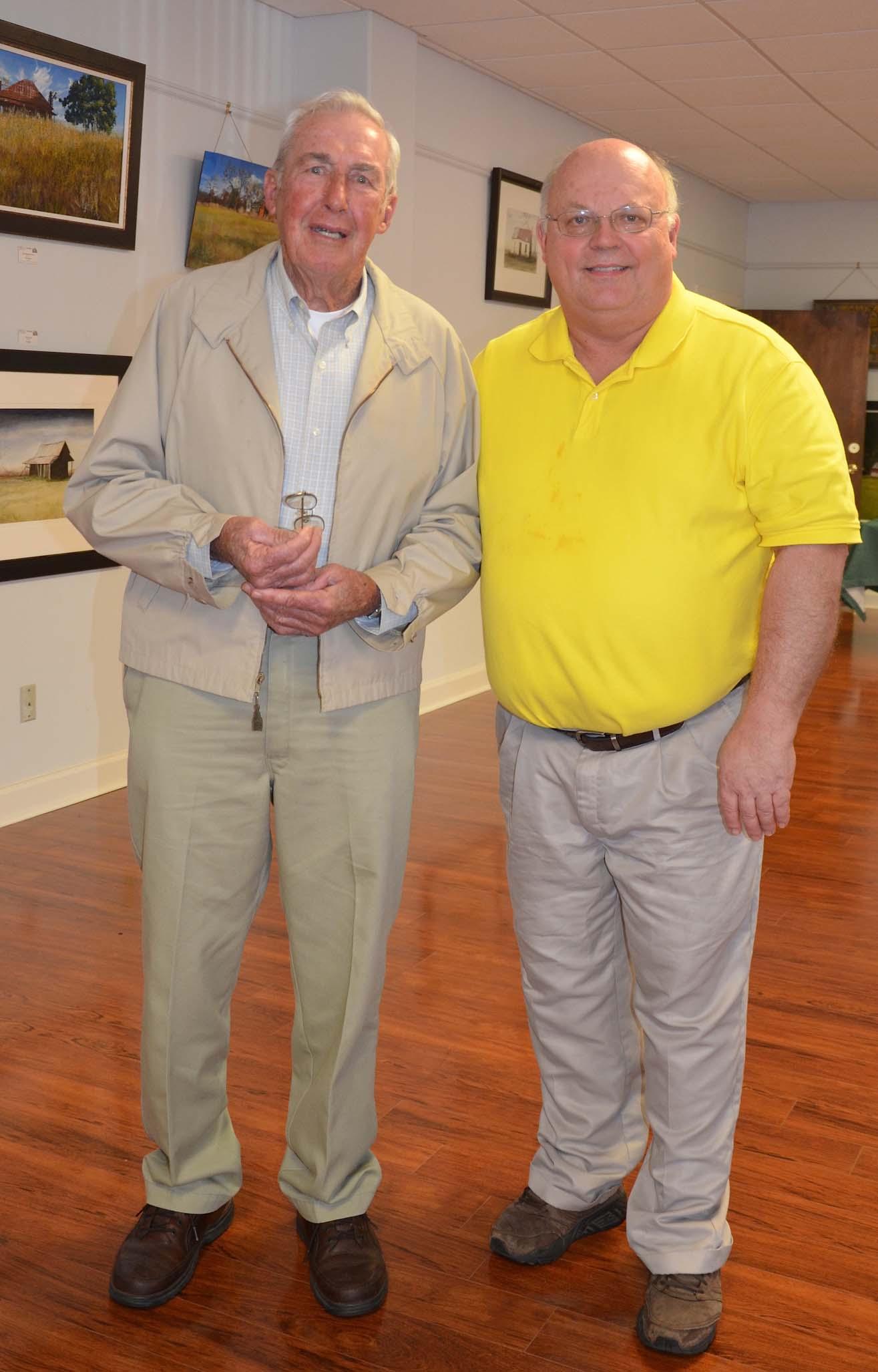 Barry C and Wayne Helms