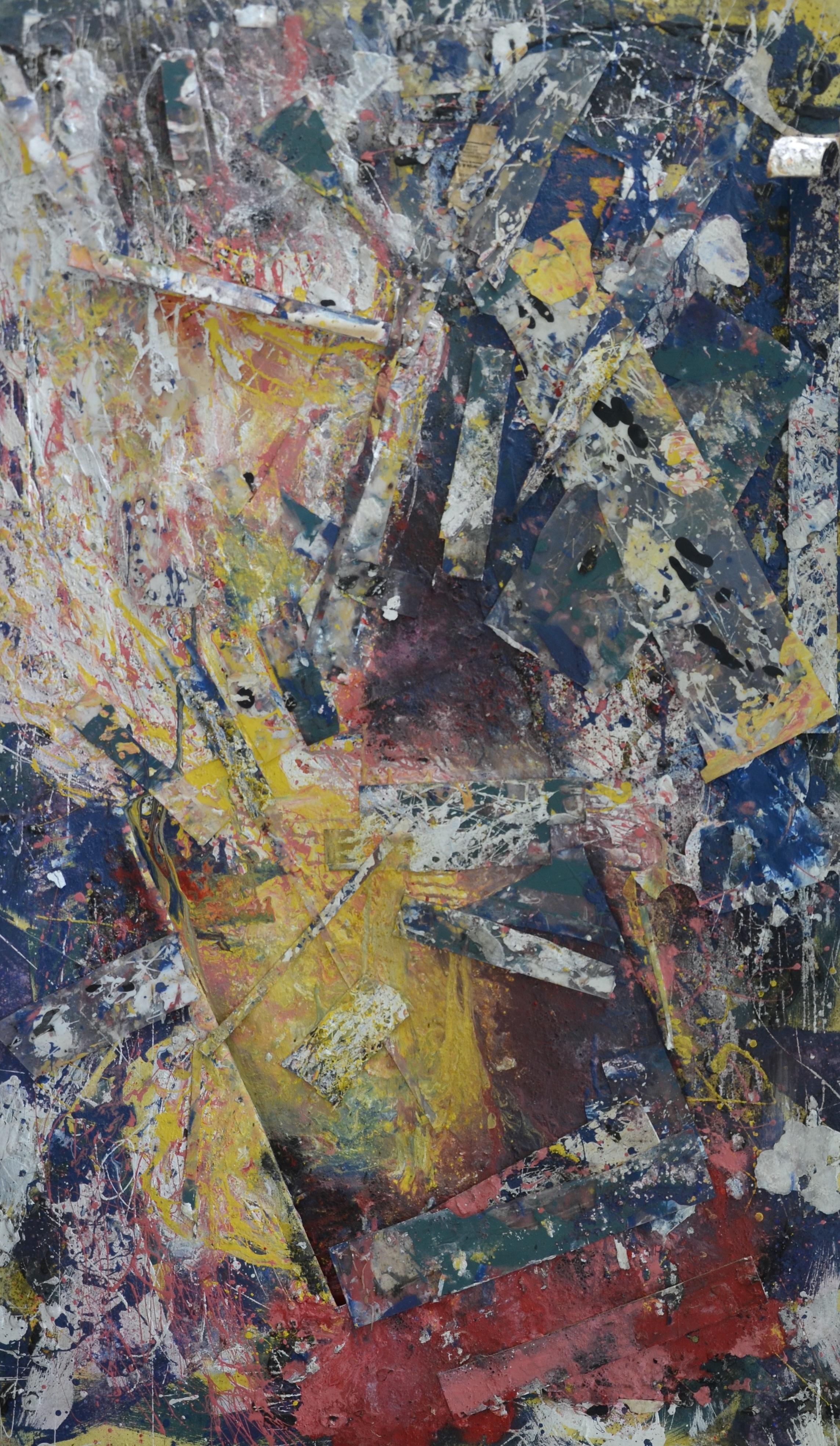 Gina Houston Lancaster, Mixed Media, 36 x 60, $2500_KFMG copy