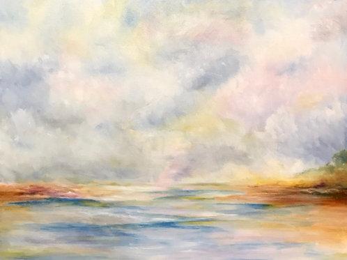 Genie Kline, Solitude, Oil on Canvas