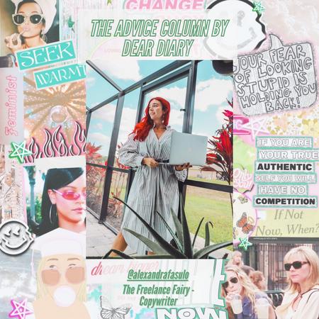 How The Freelance Fairy Became a Freelancer: The Advice Column by Dear Diary