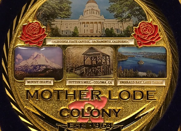 Mother Lode Colony Lapel Pin