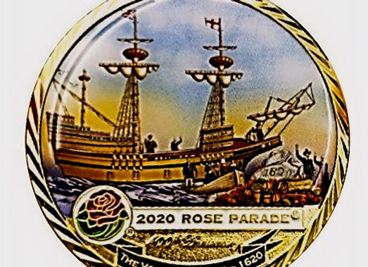 Rose Parade Challenge Coin