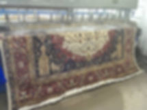 Antique rug cleaning service