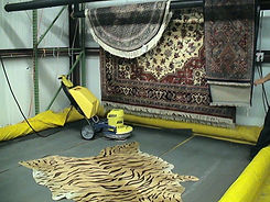 dry special rug after cleaning