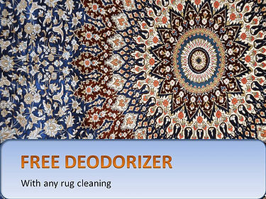 Pick up area rugs for cleaning