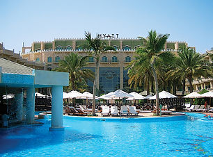 Muscat airport transfer to Hyatt  hotel