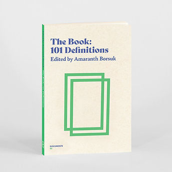 Thee Book edited by Amaranth Borsuk