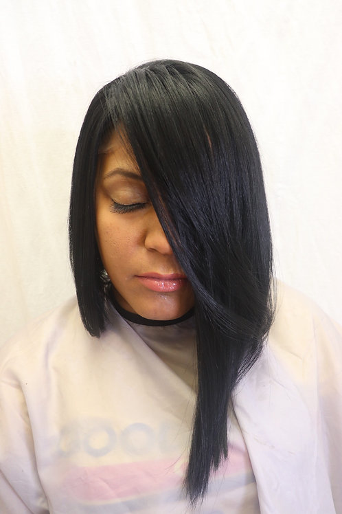 Synthectic Lace Front Bob  Wig