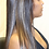 "Thumbnail: 18"" Lace Front wig High fiber Synthetic color #4/27"