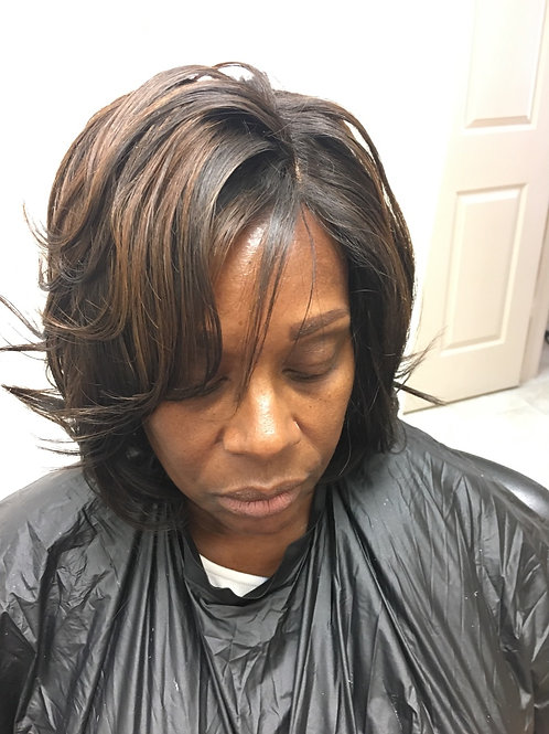 LaceFrontal Custom style