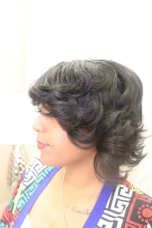 Synthectic Lace front Wig