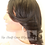 "Thumbnail: 12"" Lacefront wig w/ baby hair and bleached knots"