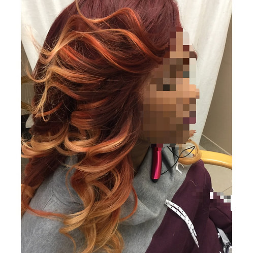 Custom Lace Front Wig