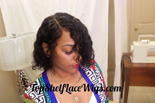 Custom whole lace wig