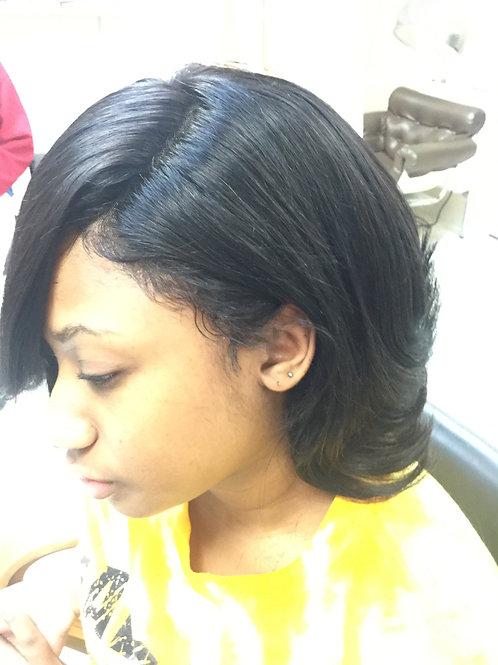 360 Lace wig Bob cut