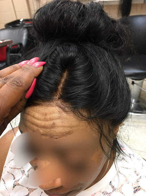 """360 14"""" Lace Wig Straight"""