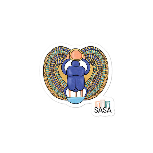 SASA Scarab Sticker