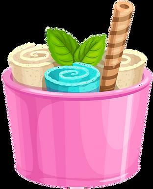 Swirl Ice Cream animated
