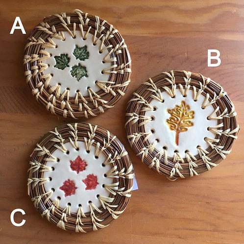 Pine Needle Basketry: Ornament
