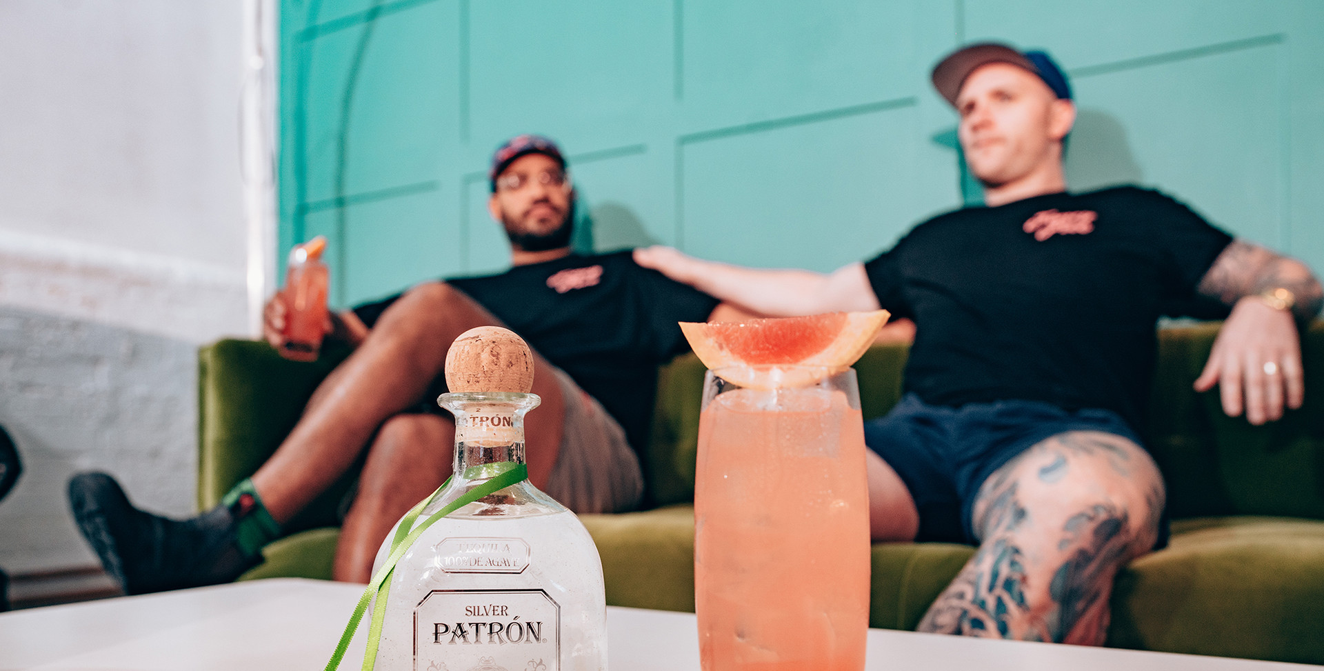 LCW - Drinks at Home perfected by Patrón