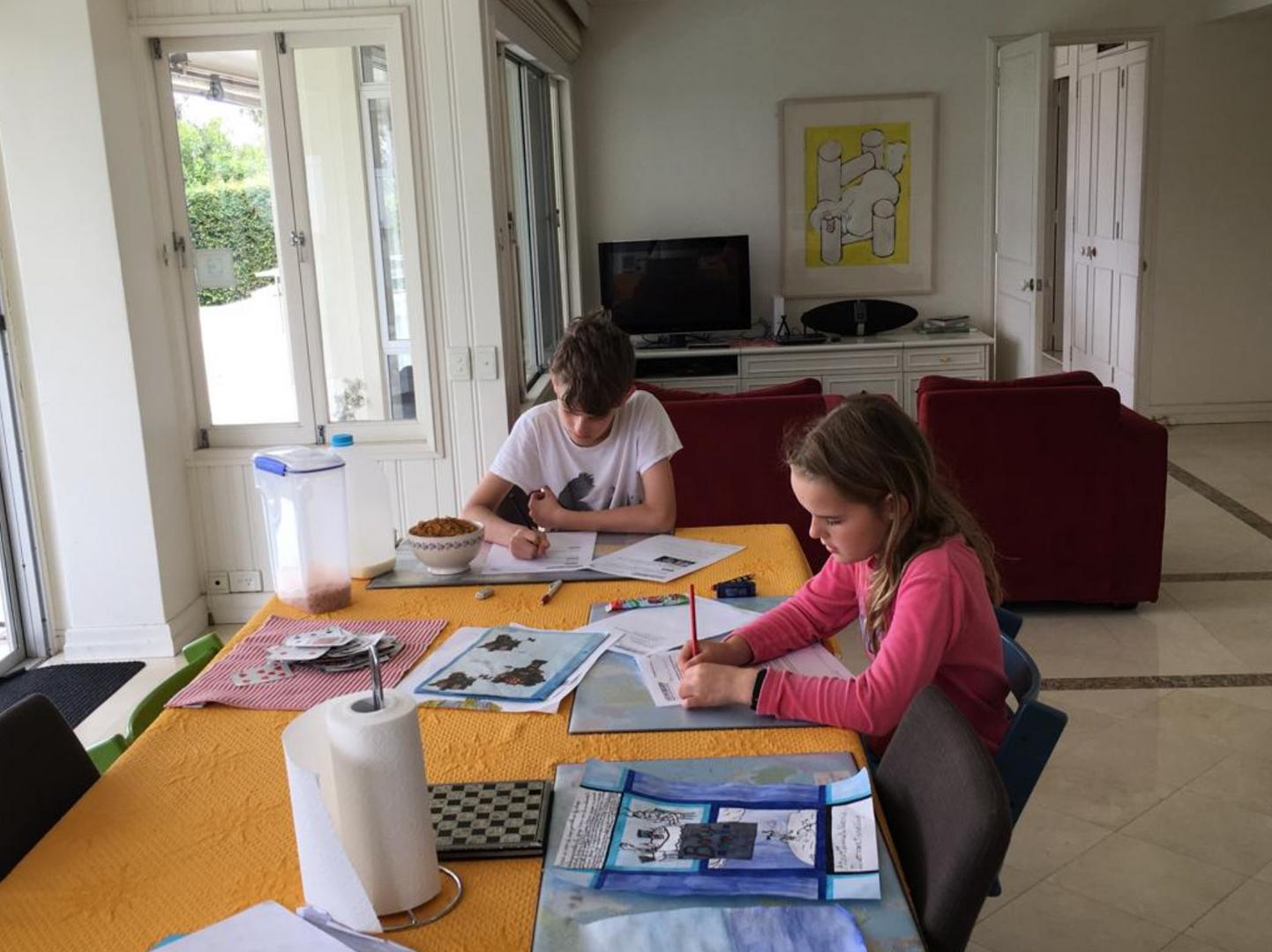 Huiswerk online onderwijs