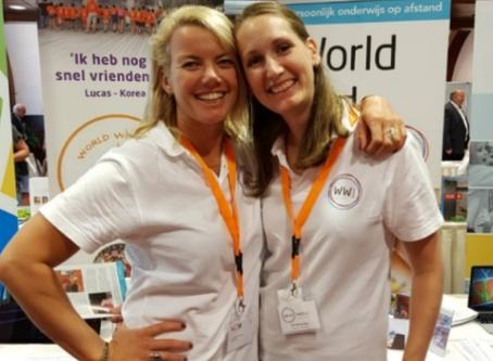Start-up van World Wide Juf; Een online Nederlandse Taal en Cultuur school met privélessen via Skype