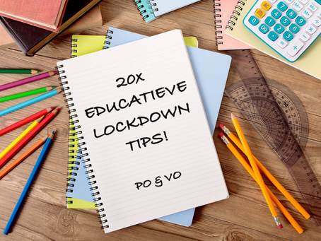 20 EDUCATIEVE LOCKDOWN TIPS