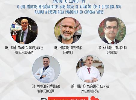 Juntos por Uberlândia promove 'live' com médicos e lança nova frente de trabalho.