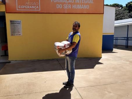 Juntos por Uberlândia arrecada primeiras 10 mil cestas básicas