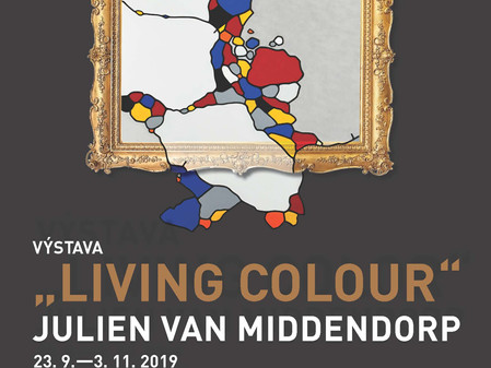 Julien van Middendorp: Living Colour, arttalk.cz