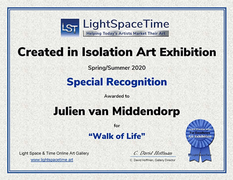 Created in Isolation SR Certificate - Ju