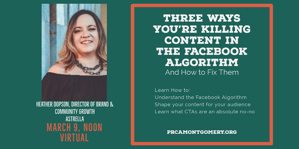 Three Ways You're Killing Content in the Facebook Algorithm and How to Fix It