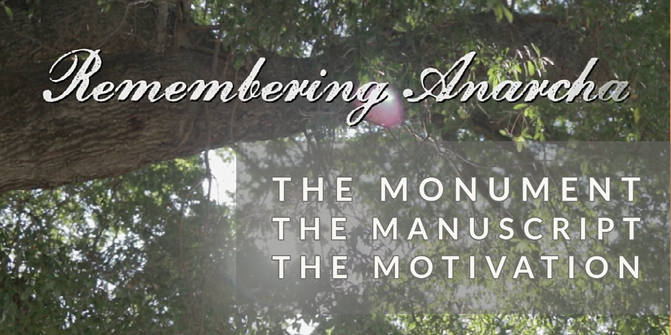 MEETING - Remembering Anarcha | The Monument, The Manuscript, The Motivation