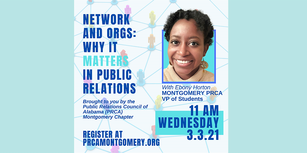 Network and Orgs: Why It Matters In Public Relations