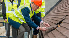 Property Construction topping out event