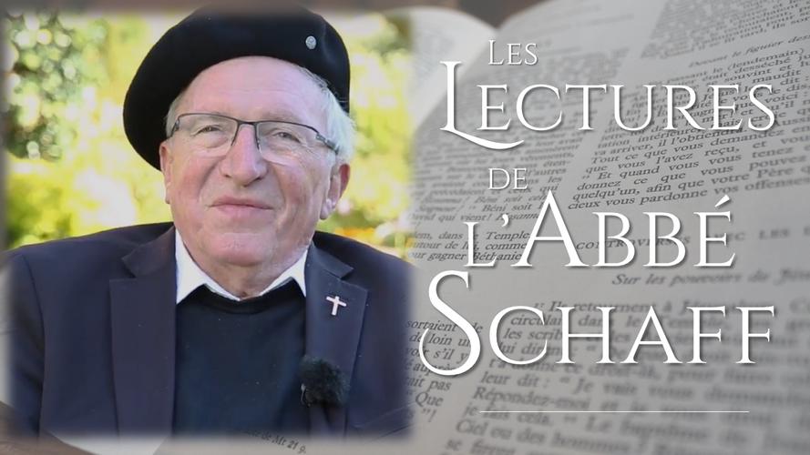Les lectures de l'abbé Schaff