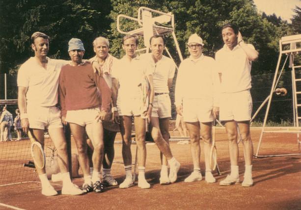 Mannschaft in den 60er..