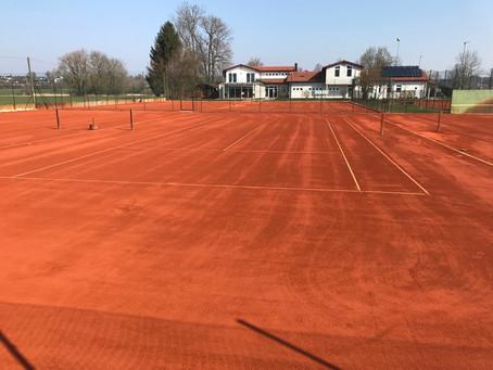 Die Tennissaison könnte beginnen!