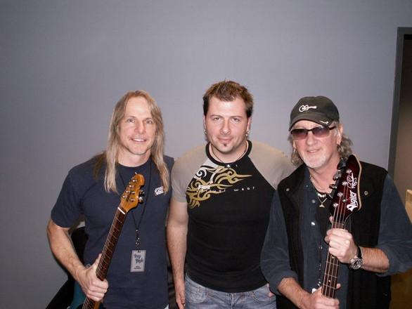 With Deep Purple