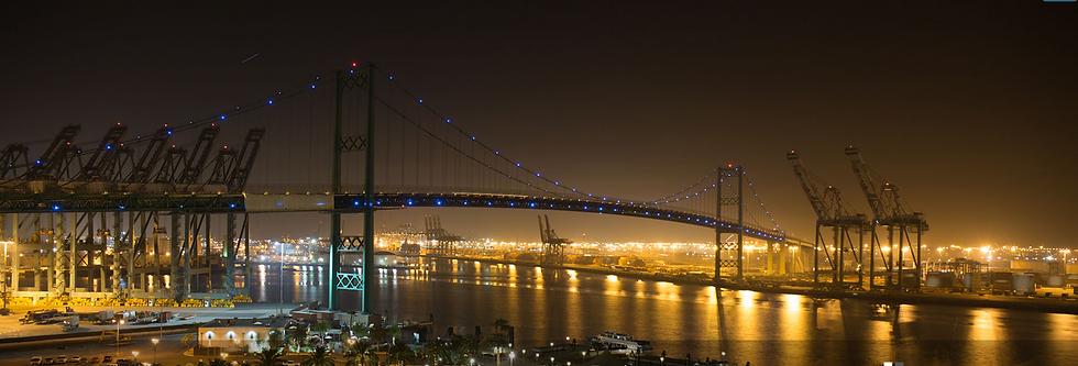 Vincent Thomas Bridge at Night Photo.png